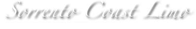 Sorrento Coast Limo - Logo