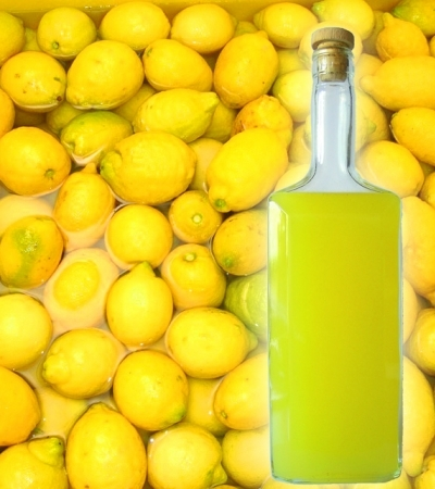 Limoncello from Sorrento