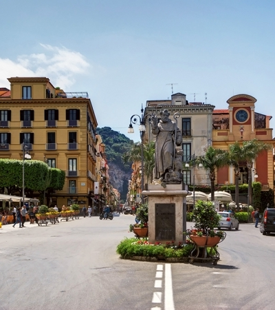 Piazza Tasso the main square of Sorrento