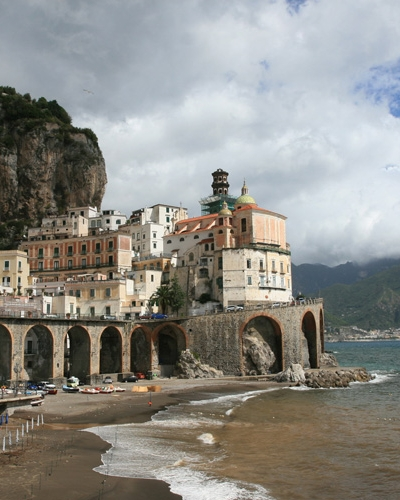 transfer naples to amalfi coast